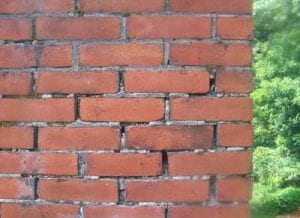 Deteriorated Brick Mortar Joints.