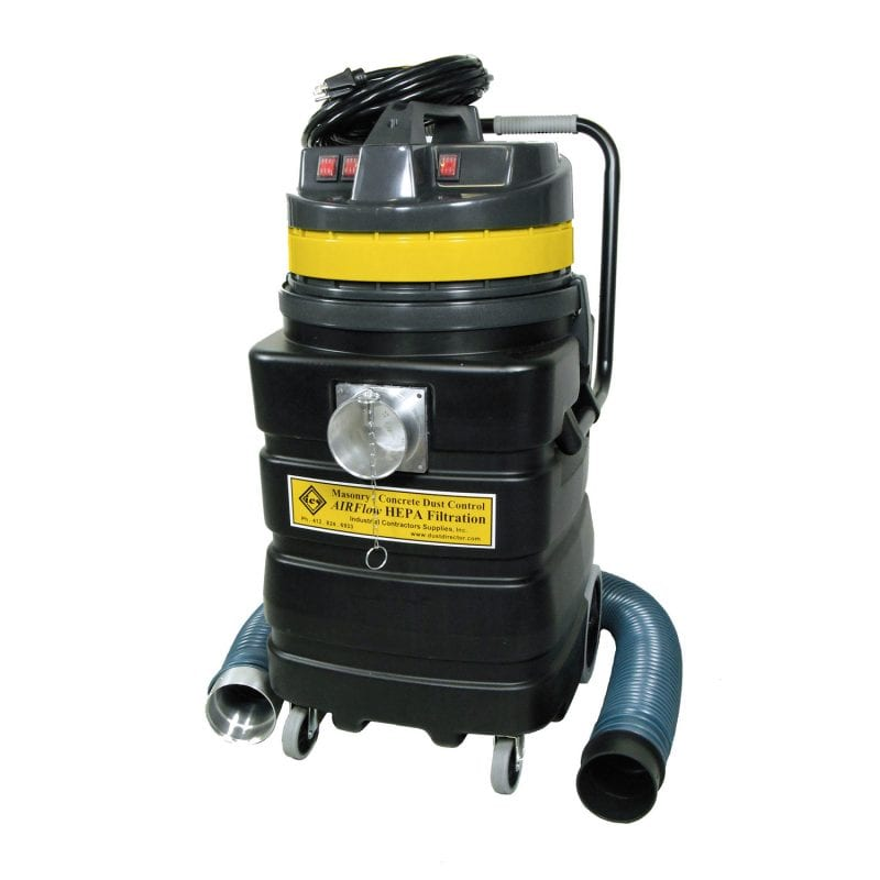 "Model: CP2400, with 4"" Inlet Port - 407 CFM, 3-Motor Vacuum, 19.5 Net Amps."