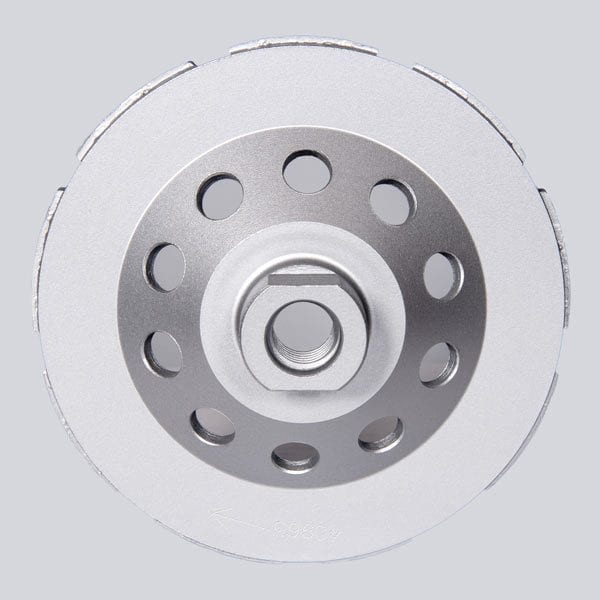 Double Row, Segmented Grinding Cup Wheel