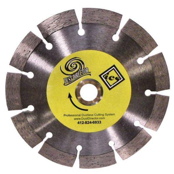 "Segment Diamond Blades - Tall 15MM (1/2"" +) Segment Height ~ General Purpose / Long Life."