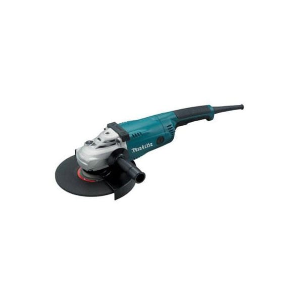 "9"" Makita HD Angle Grinder. The only grinder to be used with the 12"" Dust Director Guard."