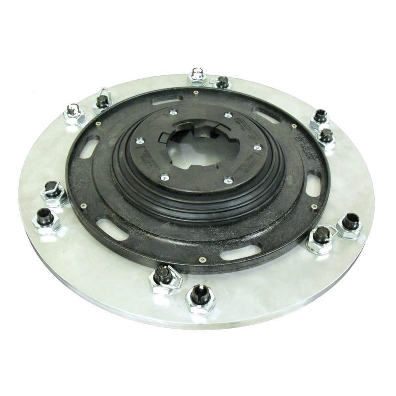Grinding Plates, complete with Extra-Wide High-Speed Riser & Universal Clutch Plate.