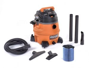 "Ridgid Vacuum - with 2-1/2"" x 6' Hose."