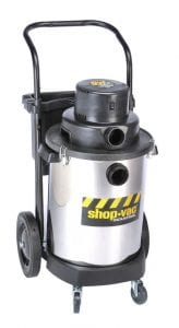 "Shop Vac - with 2-1/2"" x 6' Hose."