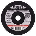 "Metabo ""original"" Slicer Wheel."