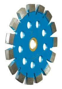 "Speed-Kut Tuck Blade with 1/2"" cooling holes."