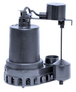 1/3 HP Continuous Duty Sump Pump.