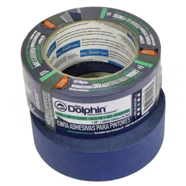 "Blue ""Interior"" Painter's Tape."