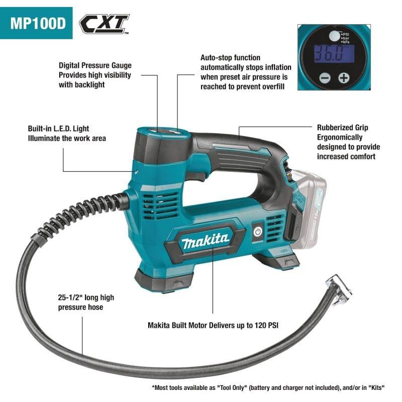 Buy Makita MP100DZ – 12V max CXT Lithium Ion Cordless
